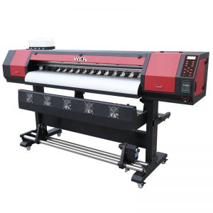 چاپگر WER-ES1902 چاپگر پوشاک DTG 1.8 میلی متری 6 فوت 1440 دسی بل