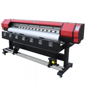 1604X DX5 printhead outdoor pvc printer چاپگر Eco solvent WER-ES1601