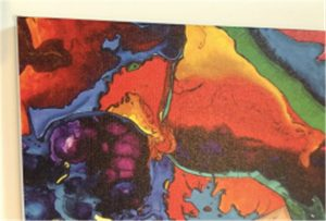 نمونه ای از بوم چاپ WER-E2000UV