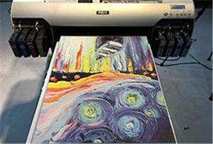 نمونه بوم از چاپگر A2 UV WER-EH4880UV