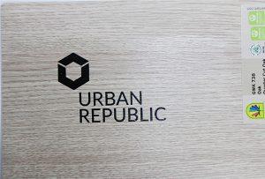 لوگو چاپ بر روی چوب توسط WER-D4880UV 2