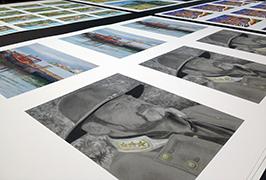 عکس کاغذ چاپ شده توسط 1.8 متر (6 فوت) چاپگر اکولوژیکی حلال WER-ES1802 2