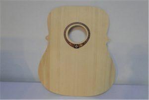 نمونه گیتار چوب از چاپگر UU اندازه A2 WER-DD4290UV