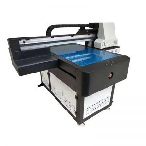پرینترهای چاپگر پرینتر UV با چراغ UV Led 6090 چاپ WER-ED6090UV
